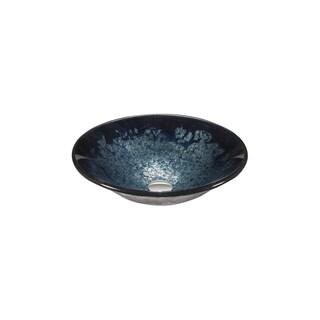 Legion Furniture Blue, Purple Velvet Vessel bowl