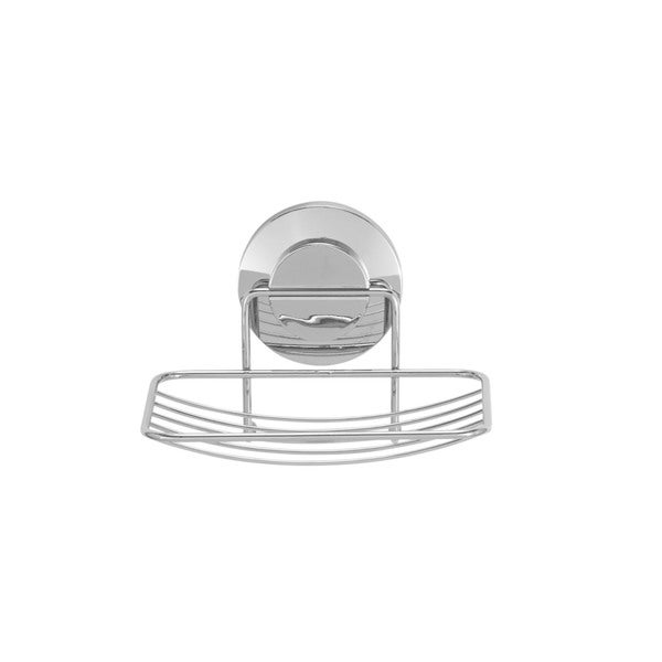 Everloc Push N' Loc Stainless Steel Suction Cup Soap Holder 19971226