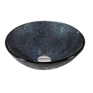 Legion Furniture Dark Blue Vessel Bowl Sink