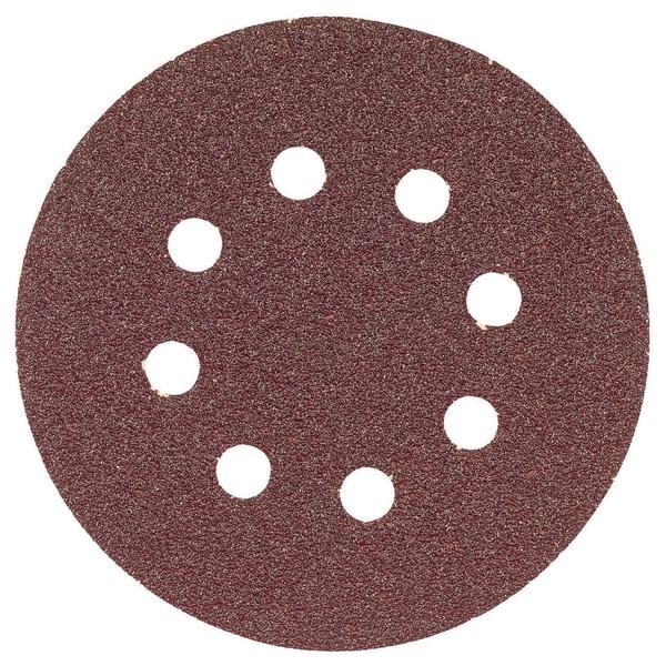 "Bosch SR5R080 5"" 80 Grit Hook & Loop Sanding Discs"
