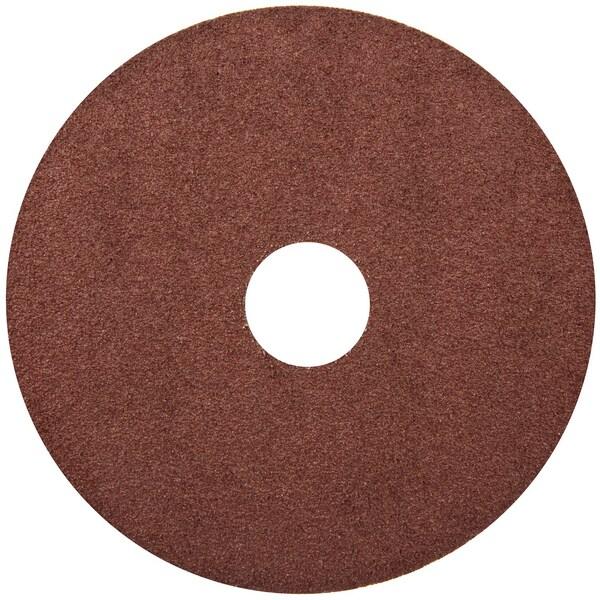 "Norton 68189 5"" 80 Grit Aluminum Oxide Fiber Disc"