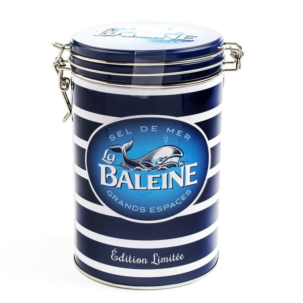 igourmet La Baleine Salt Ltd. Edition Tin by Le Saunier de Camargue