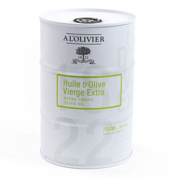 igourmet A l'Olivier Extra Virgin Olive Oil - 700ml Steel Drum Fine Cheese, Oils, Balsamic -