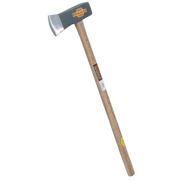 "Seymour SM8 41582 36"" 8 Lb Hickory Handle Wood Splitting Maul"