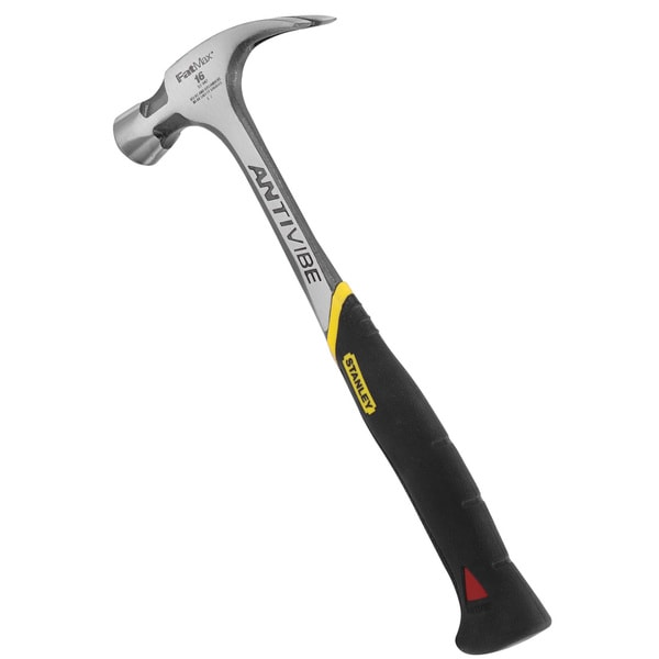 Stanley Hand Tools 51-944 20 Oz FatMax AntiVibe One-Piece Rip Claw Hammer