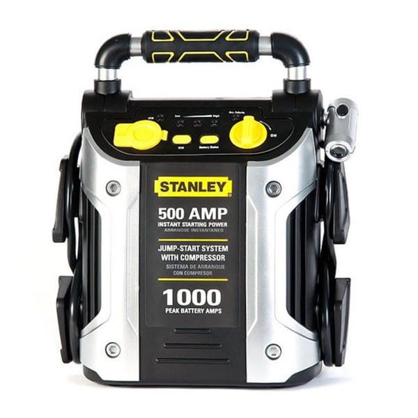 Stanley 500-amp Jump Starter with Compressor