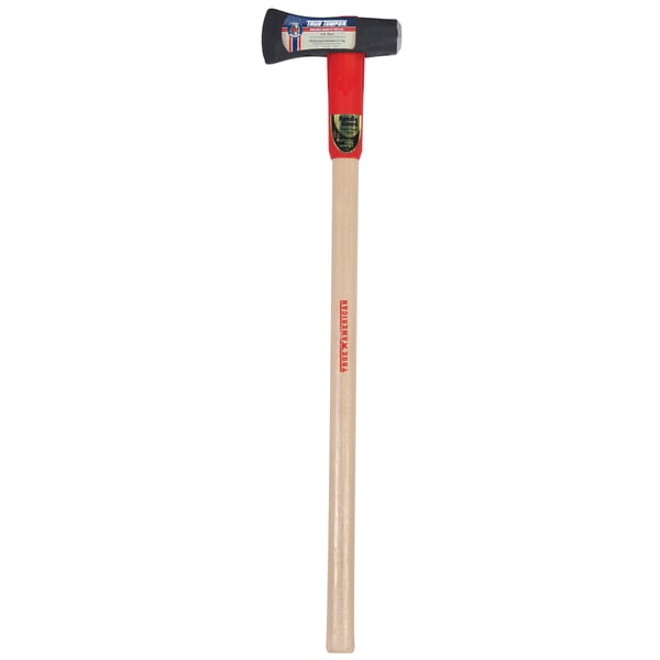 "True American 1113100200 36"" 6 Lb Forged Steel Splitting Maul With Wood Handle"