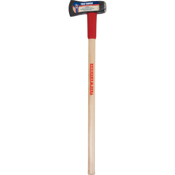 "True Temper 1113090600 36"" 8 Lb Splitting Maul With Wood Handle"