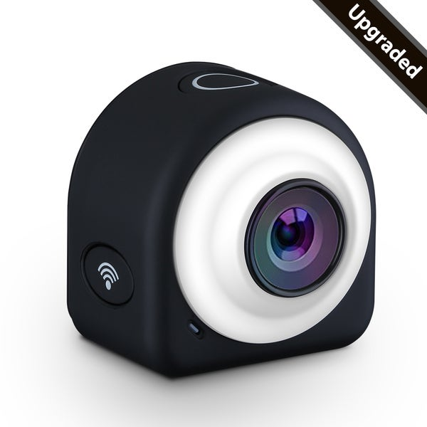 Mini Lifestyle Action Camera with 8-megapixel CMOS Sensor