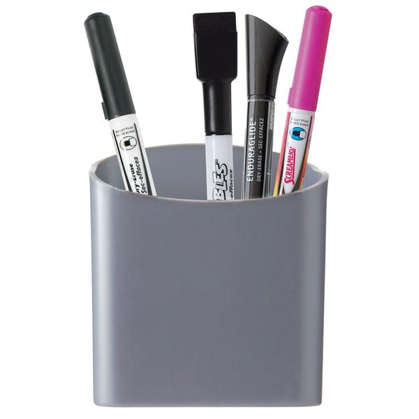 Quartet 48120 Assorted Colors Magnetic Pencil & Pen Cup Holder