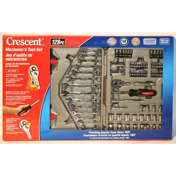 Crescent CTK128MP2 128 Piece Mechanic's Tool Set