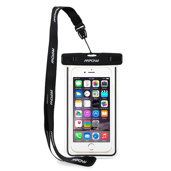Universal Water-, Dust-, Dirt-, and Snow-proof Pouch/Case/Bag for Apple iPhone 6s and Samsung Cellphones
