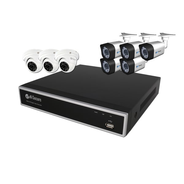 eN-Secure 8-channel High Definition Security Camera System