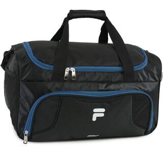 Fila Racer Nylon Small Travel Gym Sport Duffel Bag