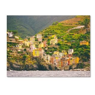 Ariane Moshayedi 'Cinque Terre' Canvas Art