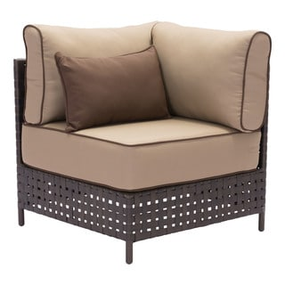 Pinery Brown and Beige Armless Corner Chair