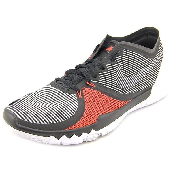 Nike Men's 'Free Trainer 3.0 V4' Black Mesh Athletic Shoes