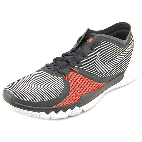 Nike Men's 'Free Trainer 3.0 V4' Black Mesh Athletic Shoes