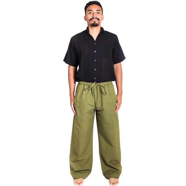 Hemp-cotton Blend Classic Lounge Pants (Nepal) 19979188