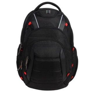 Swissdigital Circuit 7K Series Black 15-inch Laptop and Tablet Backpack