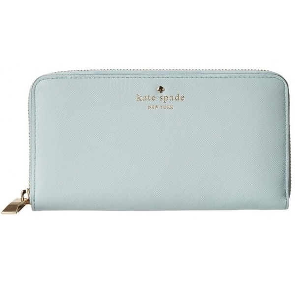 Kate Spade Cherry Lane Lacey Cy Blue Wallet