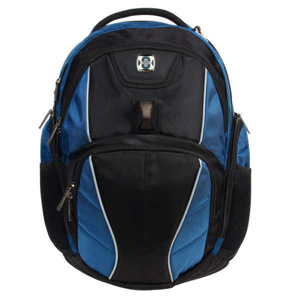 Swissdigital Hub Blue/Black 15-inch Laptop Backpack
