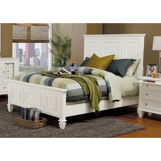 Coaster Company Sandy Beach White Wood Bed