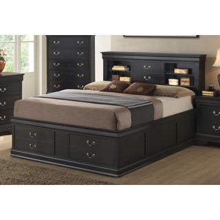 Coaster Company Louis Philippe Black Storage Bed