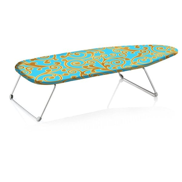 Perilla Mini B Portable Table Top Ironing Board With Folding Legs
