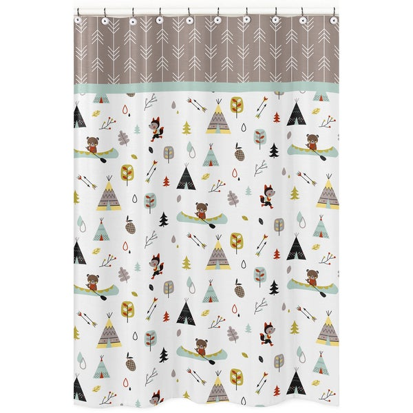 Outdoor Adventure Shower Curtain