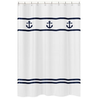Anchors Away Shower Curtain
