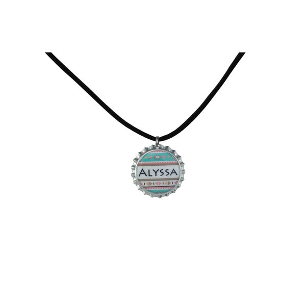 Be The Envy Pastel Aztec Name Necklace