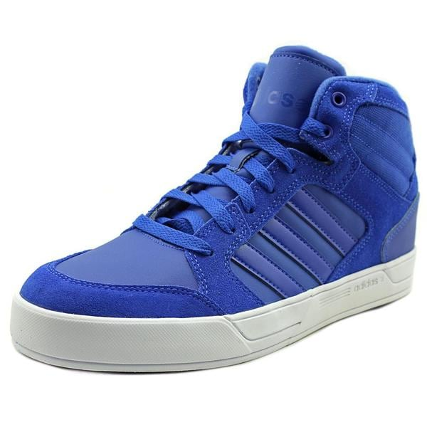 Adidas Men's 'Raleigh Mid' Blue Leather Athletic Shoes