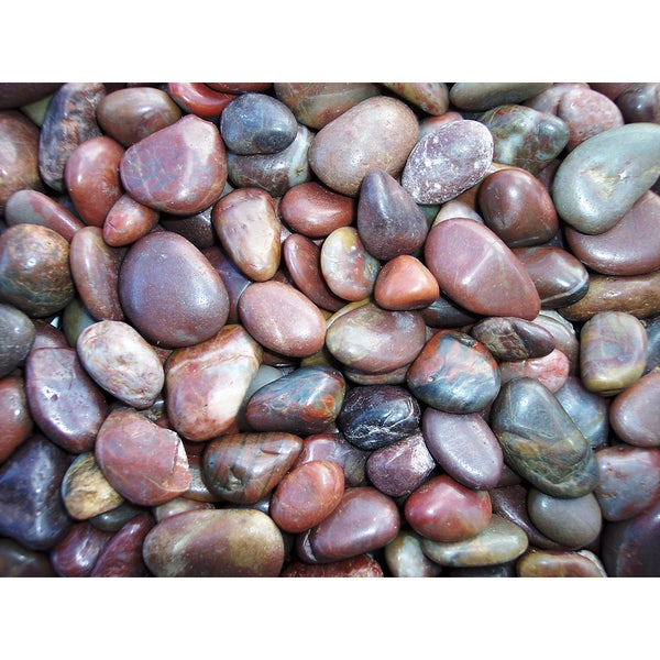 Exotic Pebbles & Aggregates PRS-1030 5-pound Red Polished Pebbles