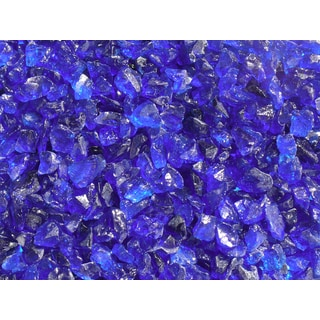 Exotic Pebbles & Aggregates EG02-L05S 2-pound Ocean Blue Glass Pebbles