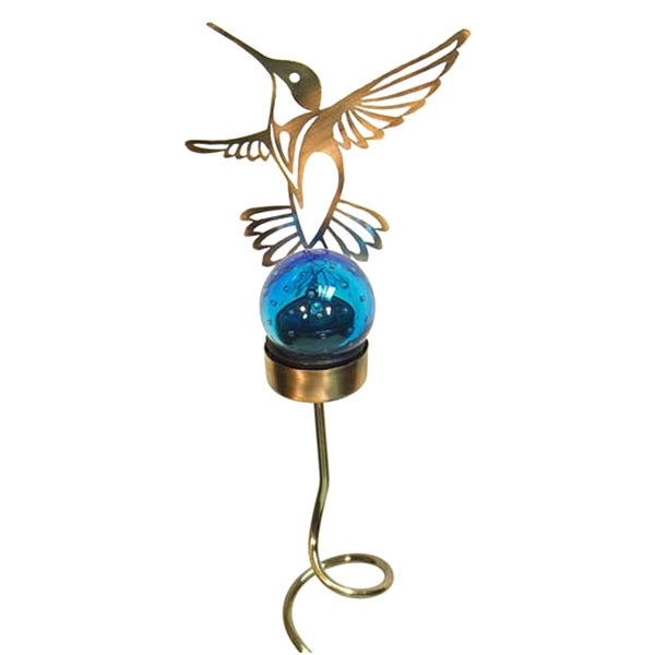 Echo Valley 4623 36.5-inches Hummingbird Solar Shadow Stake