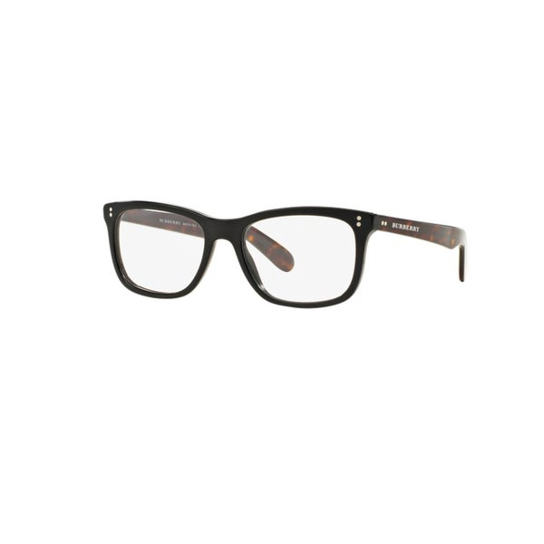 Burberry BE2212F 3554F Black Plastic Square Eyeglasses with 54mm Lens
