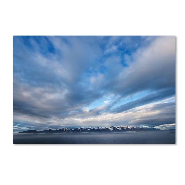 Philippe Sainte-Laudy 'When the Stillness Comes' Canvas Art