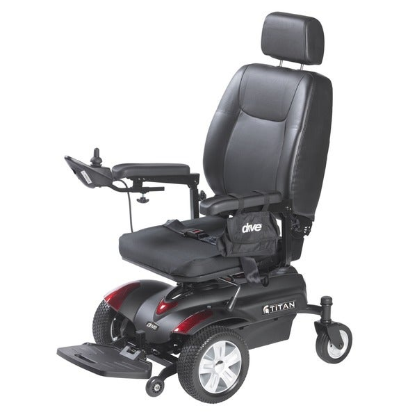 Drive Medical Titan Front Wheel Pan Seat Power Wheelchair