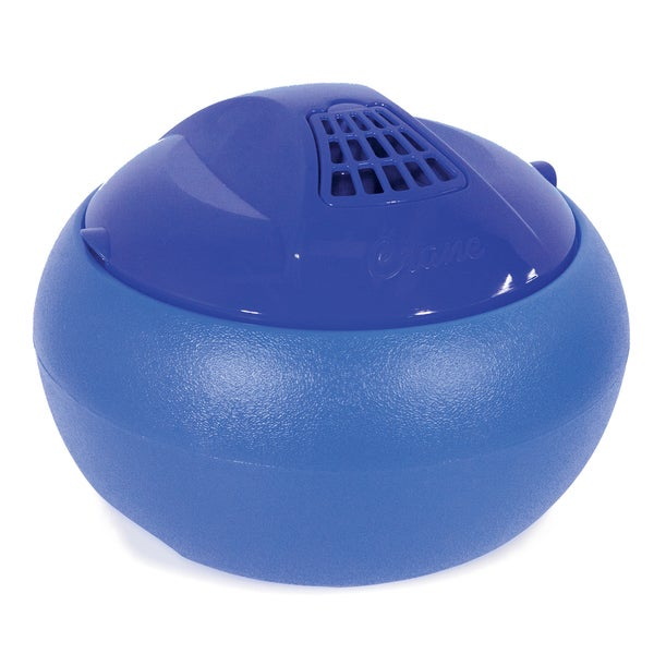Crane EE-8619B 1 Gallon Blue Warm Steam Tabletop Vaporizer Humidifier