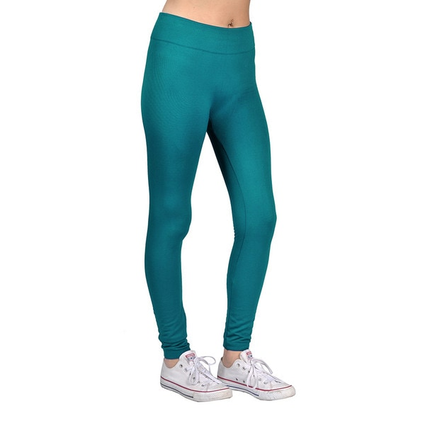Womens Fashion Teal Blue Leggings