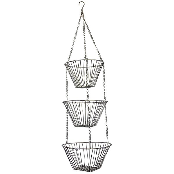 Fox Run 6312 Chrome Hanging Baskets