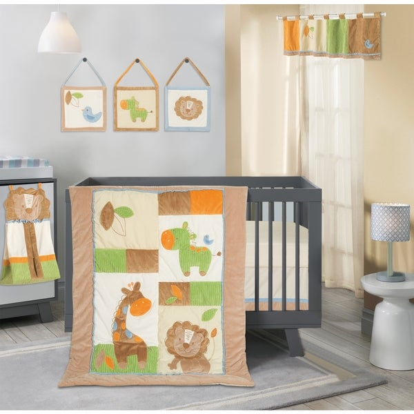 Segma Jaron 8-piece Crib Bedding Set