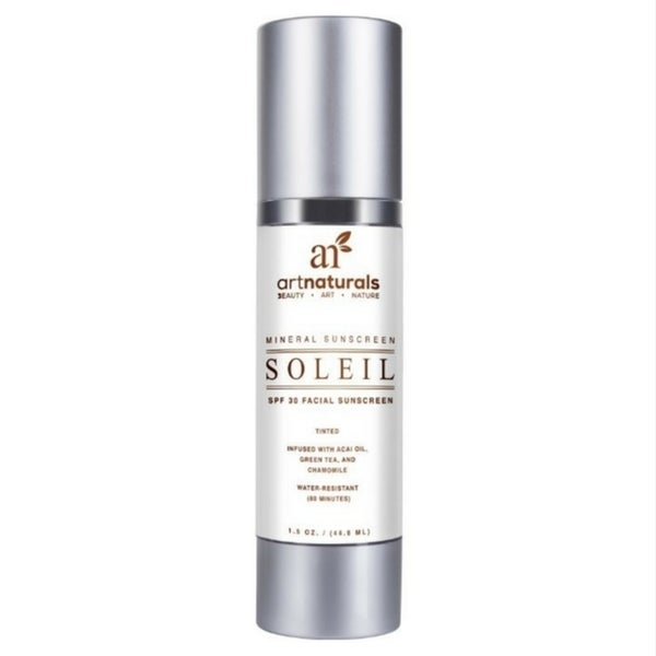 Art Naturals Soleil Jojoba Infused 1.5-ounce Tinted Facial Sunscreen SPF30