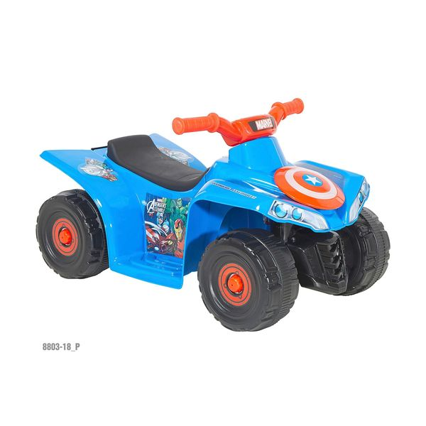 Dynacraft Marvel Avengers Battery Powered Ride-on quad