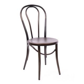Belmont Rustic Matte Steel Side Chair (Set of 2)