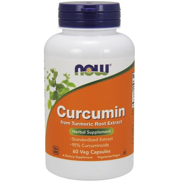Now Foods Curcumin 95-percent Turmeric Root Extract
