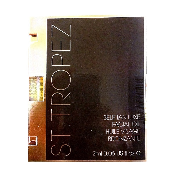 St. Tropez Tanning Essentials .06-ounce Self Tan Luxe Facial Oil