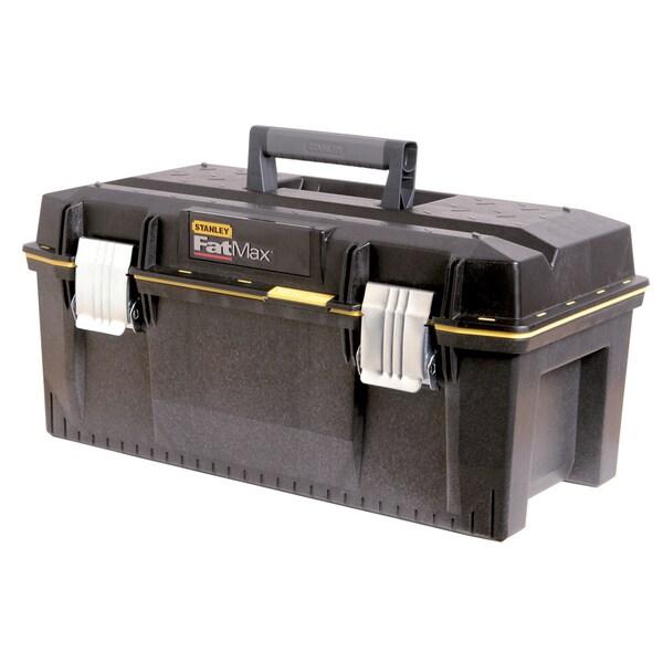 "Stanley 023001W 23"" Stanley FatMax Gray Metal Plastic Tool Box"