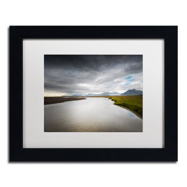 Philippe Sainte-Laudy 'Event Horizon' Matted Framed Art